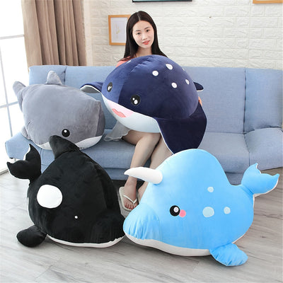 Baby Shark Baby Whale Stuffed Plush Toy Dolls