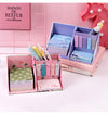 Pen Holder + Post-it Memos Combination Set