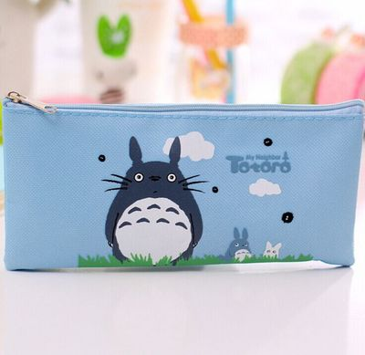 Kawaii Japanese Totoro Pen and Pencil Case