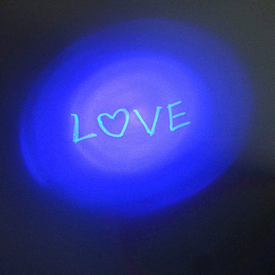 Invisible Ink Pen With Magic UV Light
