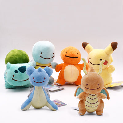 Kawaii Pikachi Family Plush Toys