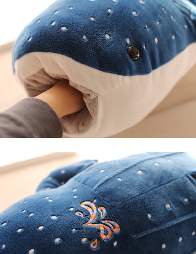 Blue Whale Shark Baby Soft Pillow Doll