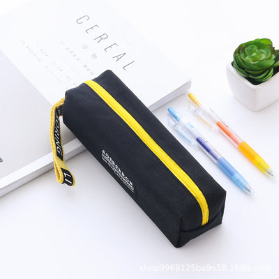 Slogan Design Zipper Pencil Case