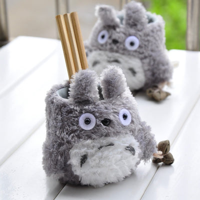 Kawaii Totoro Anime Pen Container