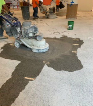Hard Concrete Floor Preparation