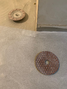 Comparison of Concrete Floor by Using Ceramic Cup Wheel and Resin Pad