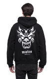DEMON MASK / Hoodie (White stamp)