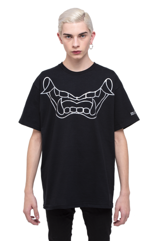 DEMON MOUTH / T-SHIRT (REFLECTIVE STAMP)