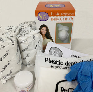 Proud Body BASIC Pregnancy Belly Cast Kit