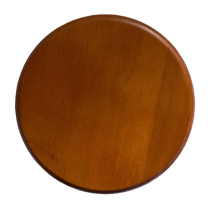 "6"" Round Wood Display Base"
