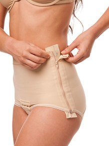 Post Surgery Low Waisted Abdominal Girdle - Brief Length