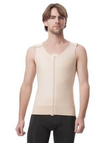 Post Surgery Male Compression Vest - No Sleeves