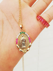 Virgin Maria Necklace