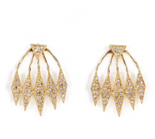 Load image into Gallery viewer, Golden Fringe Earrings