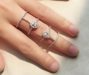 Double Cage Finger Ring