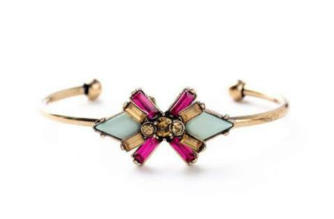Dazzle Flower  Bangle Cuff