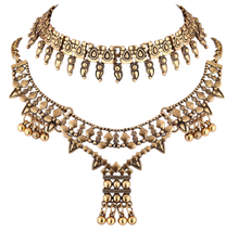 Load image into Gallery viewer, Golden Gypsy Necklace