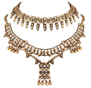 Golden Gypsy Necklace