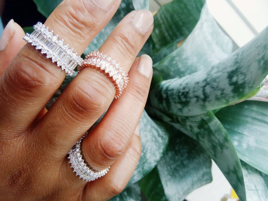 Crystal Rings Out Of Stock