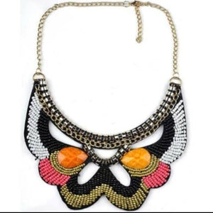 Multi Pearls Collar Necklace