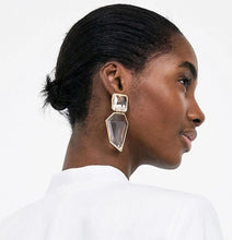 Load image into Gallery viewer, Clear Geometric Earrings