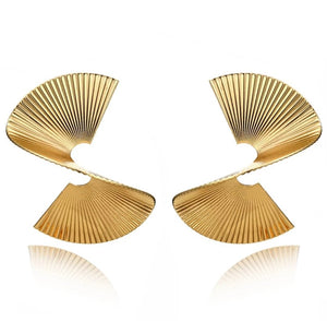 Gold Spirale Earrings