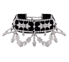 Load image into Gallery viewer, Baroque Black Choker