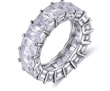 Load image into Gallery viewer, Asscher Crystal ring
