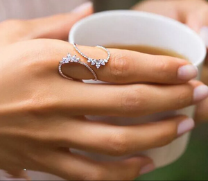Flowers Wrap Ring