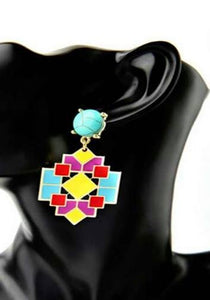 Mozaïk Drop Earrings