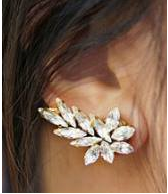 Load image into Gallery viewer, Leaf Ear Cuff Earring