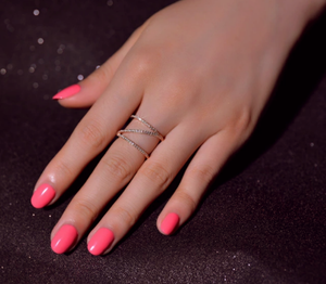 Bow Rosé Gold Ring