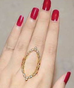 Marquise Golden Ring