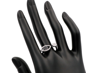 Black Evil Eye Ring