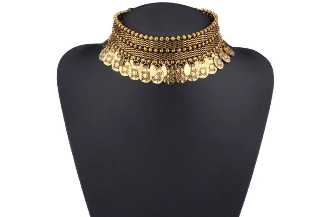 Golden Gypsy Choker