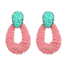 Load image into Gallery viewer, Bicolor Beads Earrings