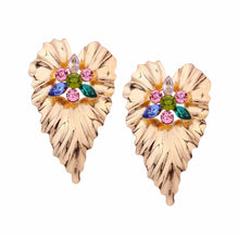 Load image into Gallery viewer, Big Flowers Earrings