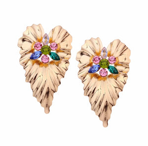 Big Flowers Earrings