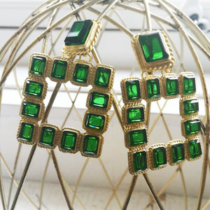 Big Square Earrings