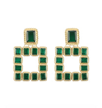 Load image into Gallery viewer, Big Square Earrings