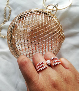 Roma Double Finger Ring
