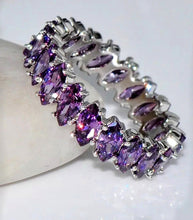 Load image into Gallery viewer, Purple Crystal Ring