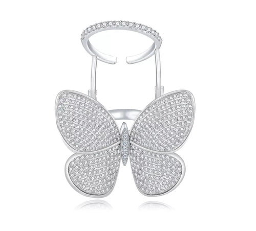 Fly butterfly Ring