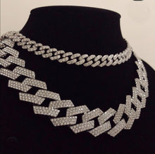 Load image into Gallery viewer, Square Cuban Link Necklace