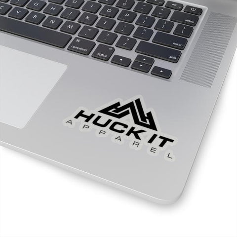 Huck It Sticker - Black