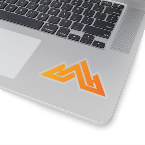 Huck It Sticker - Orange