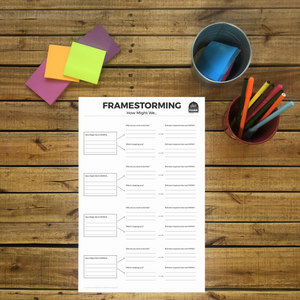 Free Download: Framestorming Worksheet