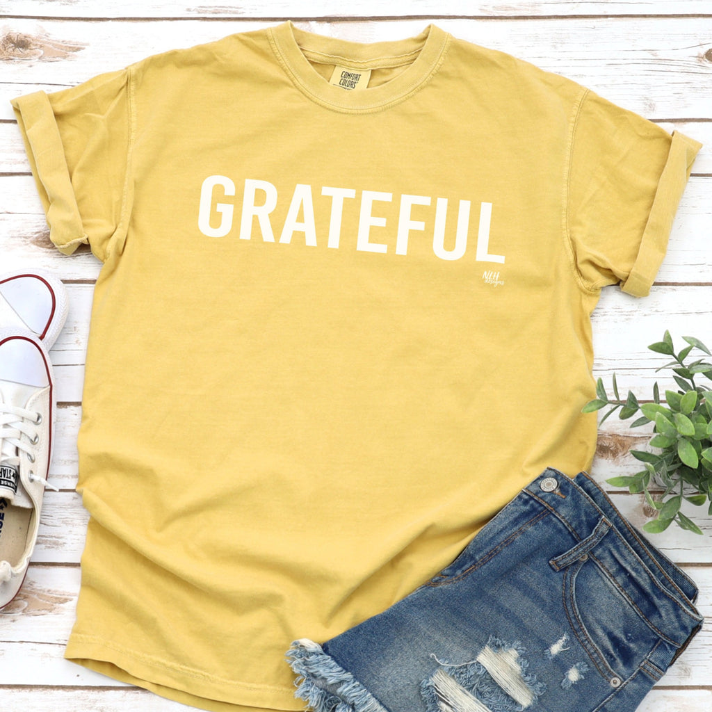Grateful Comfort Colors Short Sleeve Tee