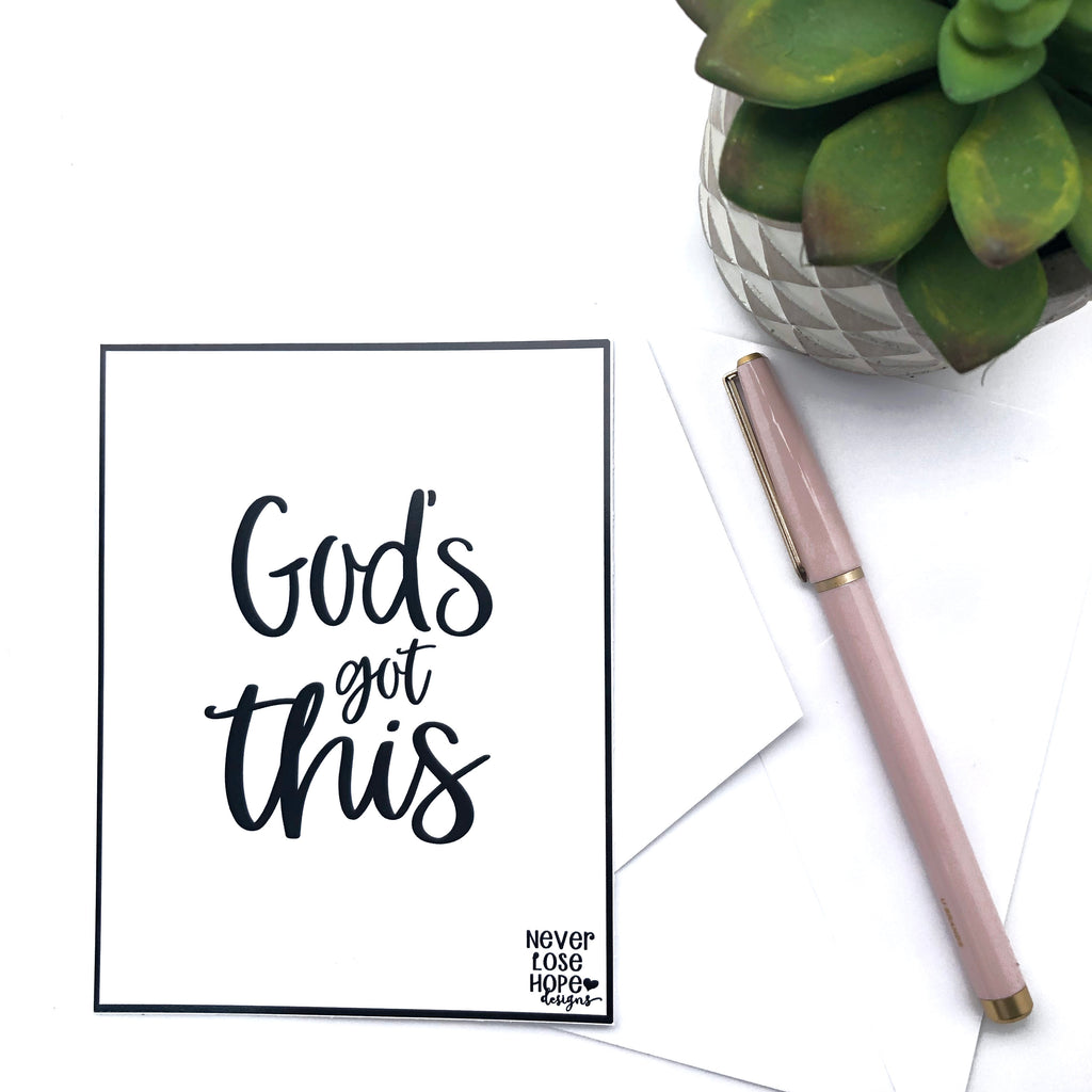 God's Got This Notecard