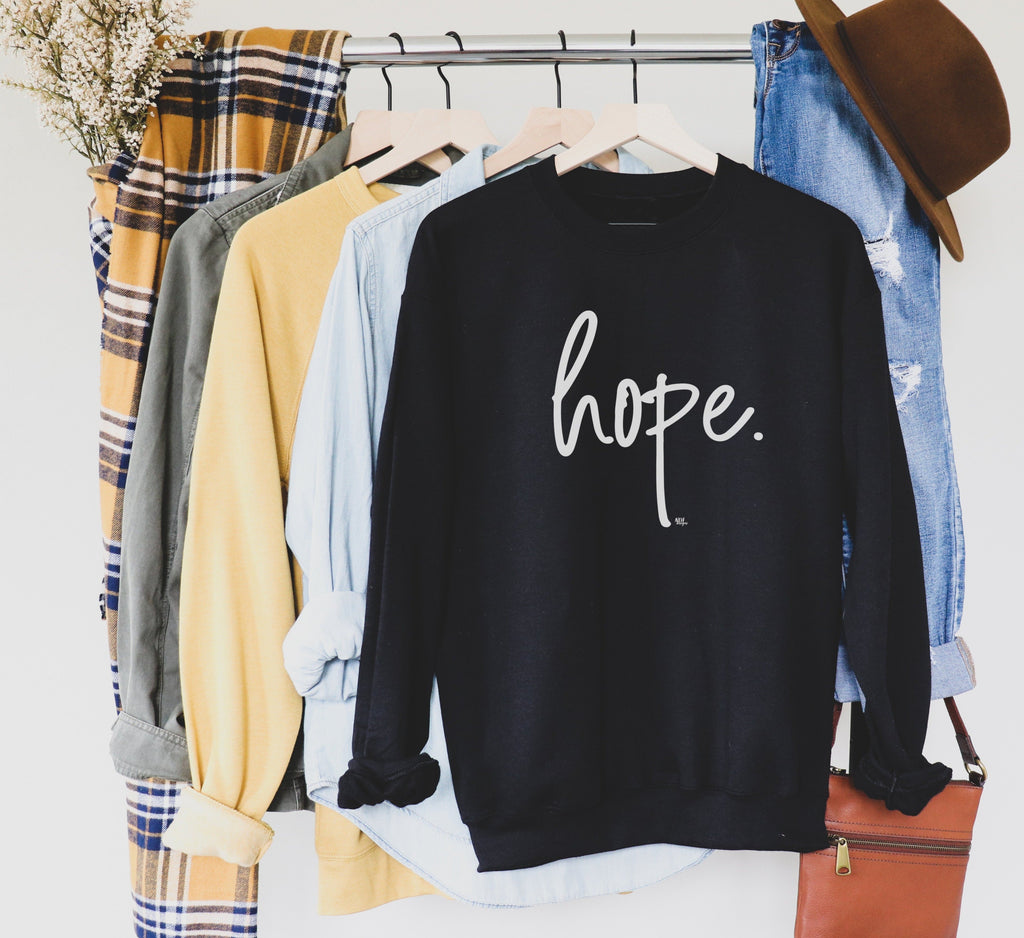 HOPE Long Sleeve Sweatshirt